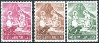 (1965) MiNr. 487 - 489 ** - Vatikán - Vánoce