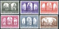 (1966) MiNr. 502 - 507 ** - Vatikán - 1000. výročí křesťanství v Polsku