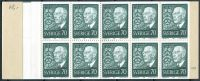 (1967) MiNr. 595 D ** - Švédsko - ZS - 85. narozeniny krále Gustava VI. Adolfa