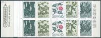 (1968) MiNr. 607 - 611 ** - Du + Do - Švédsko - ZS (MH18) - květiny