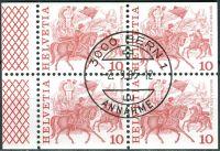 (1977) MiNr. 1101 O - Du+Do+Eor+Eru - Švýcarsko - 4-bl - tradice
