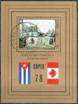 """(1978) MiNr. 2302 - Block 54 - O - Kuba - Mezinárodní výstava poštovních známek """"CAPEX'78"""", Toronto"""