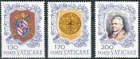 (1978) MiNr. 720 - 722 ** - Vatikán - 100. výročí úmrtí papeže Pia IX.