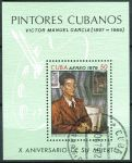 (1979) MiNr. 2410 - Block 60 - O - Kuba - Obrazy od Victora Manuela