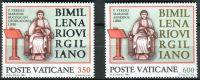 (1981) MiNr. 783 - 784 ** - Vatikán - 2000. výročí úmrtí: Publius Vergilius Maro
