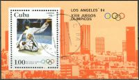 (1983) MiNr. 2722 - Block 75 - O - Kuba - Letní olympijské hry 1984, Los Angeles