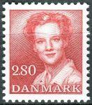 (1985) MiNr. 823 ** - Dánsko - Královna Margrethe II