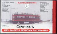(1995) MiNr. 617 - 621 ** - Isle of Man - ZS (MH33) - 100 let horská železnice Snaefell