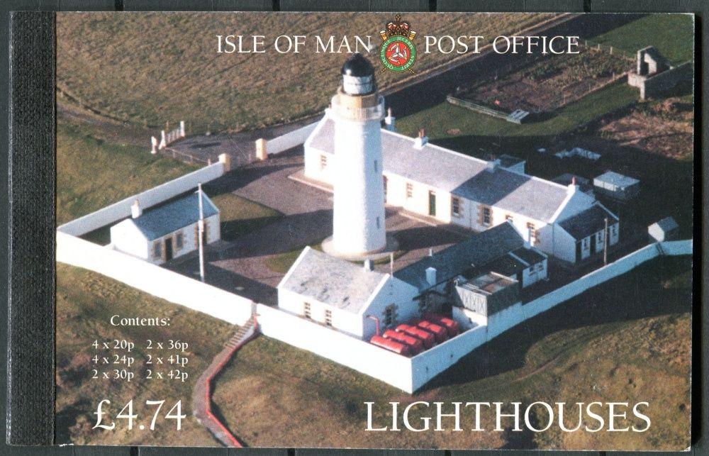 (1996) MiNr. 661 - 666 ** - Isle of Man - ZS (MH35) - Majáky