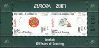 (2007) MiNr. 139 - 140 ** - Montenegro - Blatt - Europa: Pfadfinder