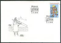 (2018) FDC 979 - Česká republika - specimen - Český jazz