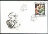 (2018) FDC 980 - Česká republika - specimen - Pražský hrad - Francesco da Ponte