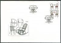 (2018) FDC 981 - Česká republika - specimen - Ohýbaný nábytek