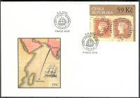(2018) FDC 987 - Česká republika - specimen - Bombajský dopis