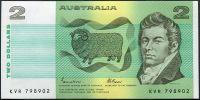 Austrálie - (P 43e) - 2 Australské dollary (1985) - UNC