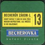 Becherovka - Becherův zákon č. 13