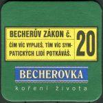 Becherovka - Becherův zákon č. 20