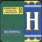 Becherovka - Becherův zákon č. 51 - H