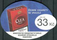 CLEA - Dobré cigarety se vracejí