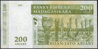 Madagaskar - (P 87c) 200 Ariary (2004) - UNC