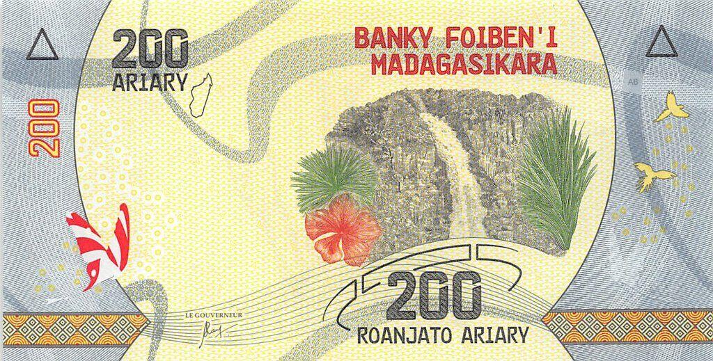 Madagaskar - (P 98) 200 Ariary (2017) - UNC