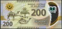 Mauretánie - (P 24) 200 OUGIYA (2017) - UNC polymer
