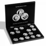 """Mincovní kazeta Volterra pro """"Panda"""" 20 ks stříbrných mincí"""
