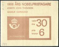 (1966) MiNr. 566 D ** - Švédsko - ZS - Nositel Nobelovy ceny roku 1906