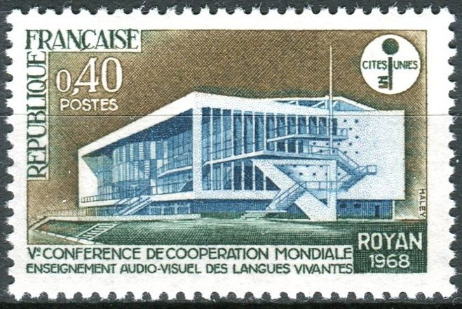 1968) MiNo  1620 ** - France - 5th Conference on