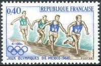 (1968) MiNr. 1638 ** - Francie - Letní olympijské hry, Mexico City