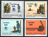 (1981) MiNr. 785 - 788 ** - Vatikán - Světový kongres Eucharistie 1981, Lourdes
