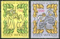 (1982) MiNr. 803 - 804 ** - Vatikán - 700. výročí úmrtí blahoslavené Anežky České