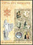 (1983) MiNr. 830 - 835 ** - BLOCK 6 - Vatikán - Výstava vatikánských uměleckých děl v USA