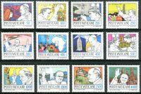 (1984) MiNr. 852 - 863 ** - Vatikán - Světové cesty papeže Jana Pavla II