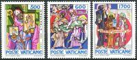 (1985) MiNr. 867 - 869 ** - Vatikán - 1100. výročí úmrtí sv. Metoděj