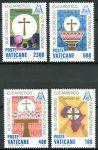 (1985) MiNr. 876 - 879 ** - Vatikán - Mezinárodní eucharistický kongres, Nairobi