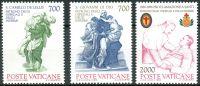 (1986) MiNr. 894 - 896 ** - Vatikán - 100. výročí prohlášení svatých Camillo de Lellis a Jana za pat