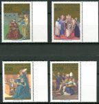 (1987) MiNr. 907 - 910 ** - Vatikán - 1600. výročí obrácení a křtu Sv. Augustin