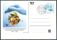 (1997) CDV 26 O - ČR - 10. výročí Montrealské smlouvy o ochraně ozonové vrstvy
