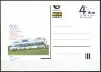 (1999) CDV 48 ** - Stamp Exhibition Brno - Villa Tugendhat - Stamp