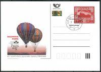 (2008) CDV 122 O - Balonová pošta - Praga 2008