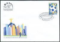 (2014) FDC MiNr. 5716 O - Maďarsko - FIFA World Cup, Brazílie