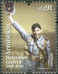 (2018) MiNr. 4424 ** - Portugalsko - 100. výročí konce první světové války