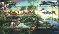 (2018) MiNr. 6001 - 6006 ** - Maďarsko - BLOCK 419 - Místní dinosauři