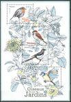 (2018) MiNr. 7048 - 7051 ** - Francie - BLOCK 395 - zahradní ptáci