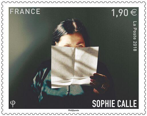 (2018) MiNr. 7189 ** - Francie - 65. narozeniny Sophie Calle