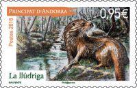 (2018) MiNr. 840 ** - Andorra (Fr.) - Ochrana přírody: zvířata