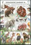 (2018) MiNr. 991 - 994 **- Česká republika - A - Ochrana přírody - Zoologické zahrady III.