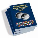 Euro katalog AJ (anglický) - mince a bankovky 2019