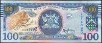 Trinidad a Tobago (P 51a.2) - 100 dolarů (2006) - UNC